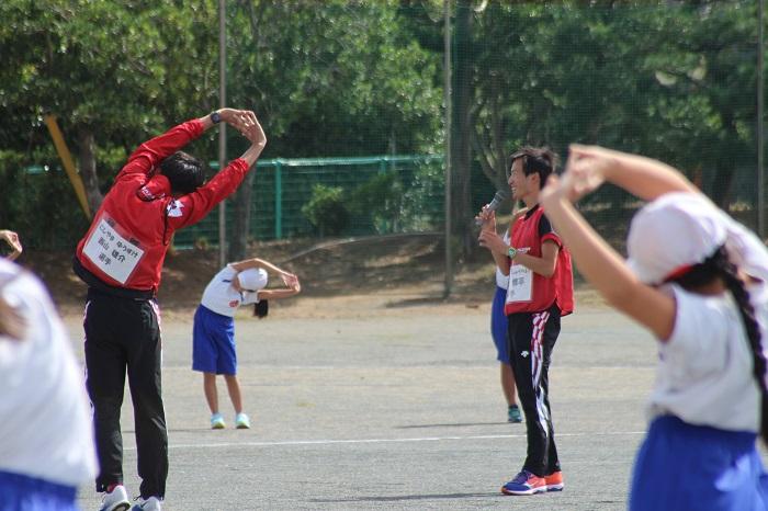 2017陸上教室体操.JPG